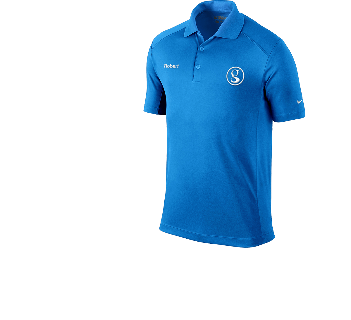 Brand Management blue shirt
