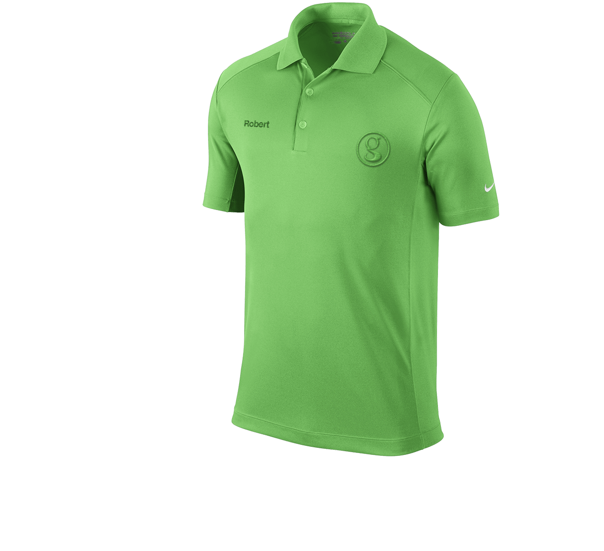 Brand Management green shirt